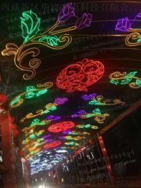 户外LED过街灯隧道亮化街道跨街灯装饰亮化防水