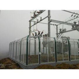 沃达  变电站框架护栏网 电力隔离网 铁网围栏 防护网