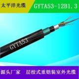 太平洋光缆 GYTA53-12B1  管道光缆