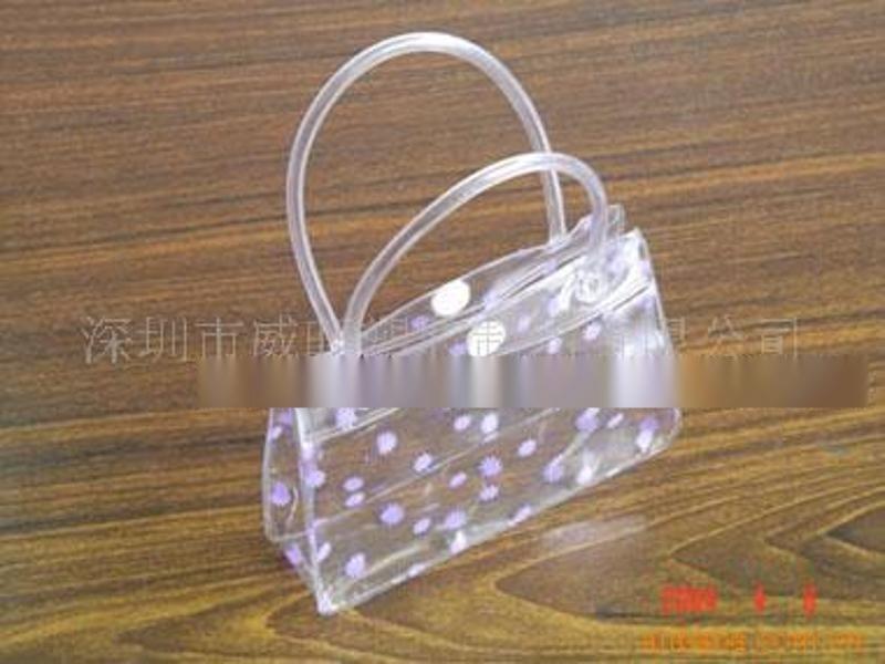 专业定做**PVC胶骨袋/pvc包装袋