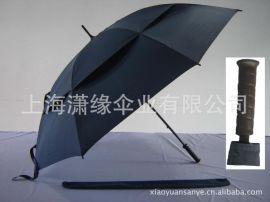 双层伞面广告礼品伞 高尔夫伞 直杆纤维伞骨 双层双骨直杆伞