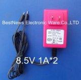 特力電器8.4V雙路輸出電源適配器