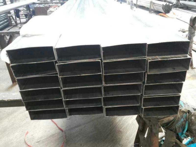 珠海现货316L不鏽鋼管 316不锈钢工业管 50*100*2.0不鏽鋼方管
