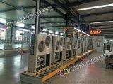 空气源热泵装配线滚筒线,热泵生产线,抽真空检测线