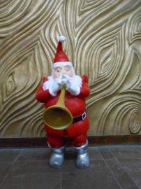 圣诞老人厂家报价树脂工艺品圣诞节礼品落地摆件
