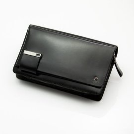 上海廠家訂做新款手抓包真皮男士手包大容量 男包男手拿包商務夾包休閒