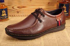 外贸鞋 真皮商务男鞋 真皮休闲鞋 皮鞋 广州皮鞋厂