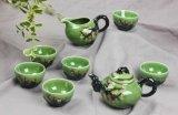 颜色釉茶具结晶釉艺术工艺品茶具订做,景德镇陶瓷茶具