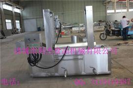 连续式油炸生产线  网带式油炸机