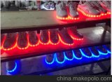可充电七彩童鞋灯带  发光鞋灯带  运动跑步鞋灯带