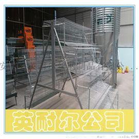 英耐尔1.95米四层五门蛋鸡笼 加密育雏鸡笼批发