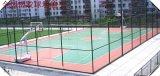 天津塑胶篮球场施工 塑胶地面铺设-橡胶颗粒跑道