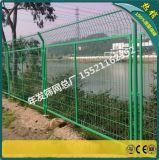 铁路铁丝网护栏的价格 广州框架护栏网现货 1.8*3.0m边框护栏网