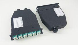 深圳毅宏光通信MPO-LC多模50/125-12色散纤1米模块盒专用跳线MPO模块盒MPO配线盒