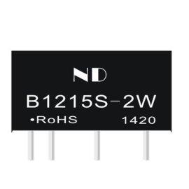 升压电源模块,dc电源模块B1215S-2W报价