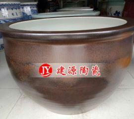 1.5米陶瓷大缸定做 酒店公司别墅摆设风水大缸批发