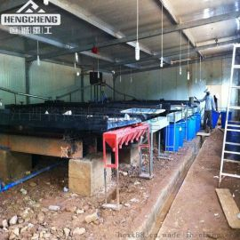 Shaking table export to Africa 沙金摇床