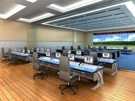 吉林长春生产警务指挥中心控制台 110接警中心主控桌 监控桌厂家直销操作台