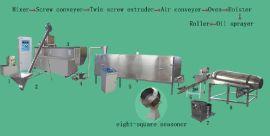 TSE65-P型狗粮生产线100-150kg/h
