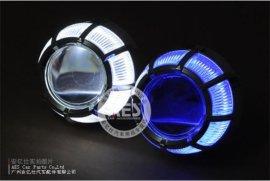2代Q5套装G8,天使眼HID氙气灯,H4H71无损,3寸Q5双光透镜