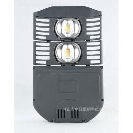 led摸组路灯压铸集成路灯头外壳 100w200w双头全铝质灯头外壳套件