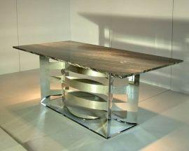 不锈钢餐桌(DT-2010004)