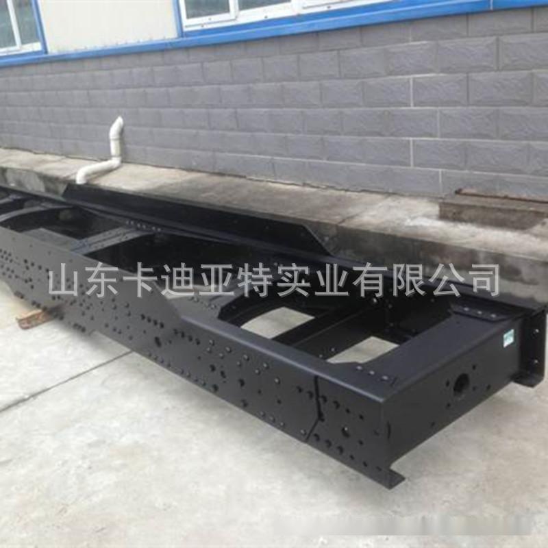德龙加厚大梁车架  德龙加重车架生产  原厂加工大梁