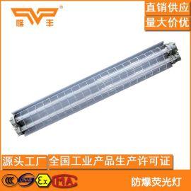 LED防爆日光灯 1.2米T8双管 led隔爆型防爆荧光灯2*40W