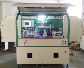 广州隆华会稽山酒瓶文字图案丝网印刷机LH-200
