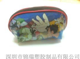 (出口日本)深圳厂家批发礼品包装袋 PVC车缝包装袋 拉链包装袋