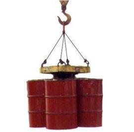 武汉汉利liftomatic L4CB 四桶桶夹 吊车用油桶钢桶搬运夹具