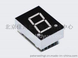 0.6英寸单一1位led数码管共阴共阳纯  色光6011AH/BHRSG仪器仪表机械设备面板显示厂家