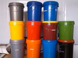 山東濟南塑料包裝桶20升潤滑油塗料農藥