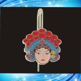 京劇臉譜書籤,中國古典金屬書籤,定做金屬禮品書籤等工藝品