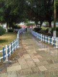 草坪护栏 塑钢护栏 塑料篱笆 花园围栏 绿化PVC护栏