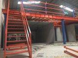 長沙廠家供應定製架托盤貨架/閣樓式貨架/鋼平臺/中型貨架