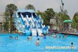 内蒙古移动水上游乐园订制支架水池