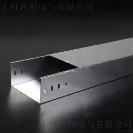 200*100*1.2mm钢制镀锌槽式机房封闭式电缆桥架