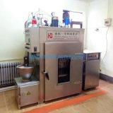 潍坊优质熏肠机器,华钢50kg蒸汽加热红肠蒸熏炉