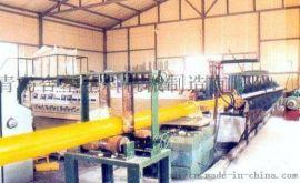 合塑钢管外壁防腐生产线