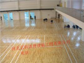 厂家篮球馆专用木地板 实体厂家生产运动木地板