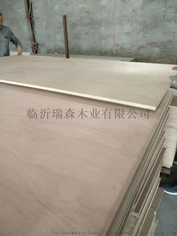 杨木芯不开胶不变形胶合板 桃花芯多层板