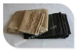 明辉硅油石墨玻纤耐高温除尘布袋