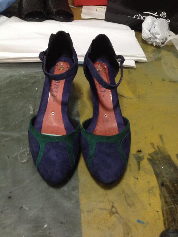 鞋廠來樣加工來圖定製外貿女鞋