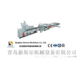 PP中空格子板设备生产线