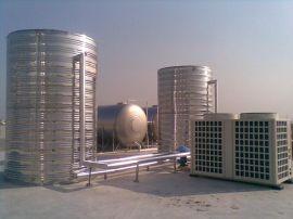 10吨工厂学校医院酒店空气能热泵热水器工程安装
