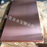 永宝C1100紫铜板|高精度紫铜板|表面平整光亮
