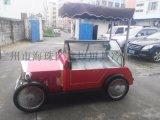可移动式冰淇淋花车 风冷式雪糕冰棍冷冻冷藏展示柜 老爷车款