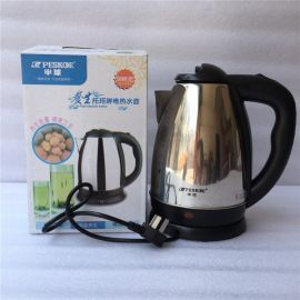 OEM 電熱水壺 304不鏽鋼電水壺自動斷電燒水壺廠家批發 授權加工
