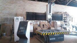 骏邦数控木工机械 实木四轴加工中心 四轴铣床厂家
